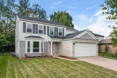 Washtenaw County Single Family Home Contingent - Financing: 3298 Turnberry Ln