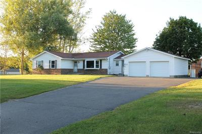 Eaton Rapids Single Family Home Contingent - Financing: 9319 Rossman Hiwy