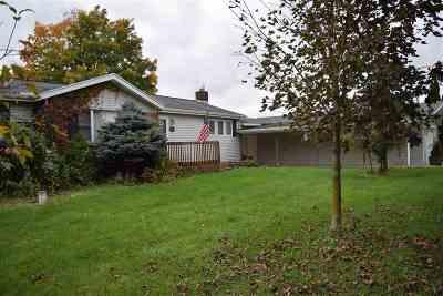 Single Family Home For Sale: 10625 Burton Rd.