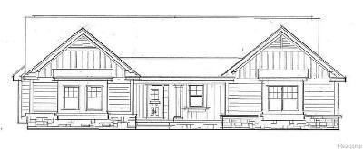 South Lyon Single Family Home For Sale: Richard Erwin Dr