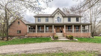 Washtenaw County Single Family Home For Sale: 8830 S Rushton Rd