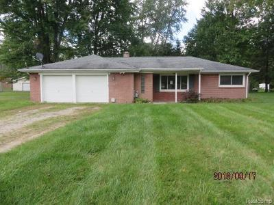 Single Family Home For Sale: 3111 Wadhams Rd