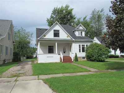 Single Family Home For Sale: 3206 Wilson