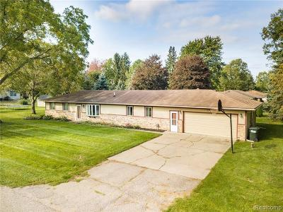 South Lyon Single Family Home For Sale: 61919 Fairland Dr