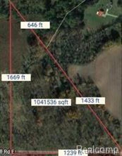 Jonesville MI Residential Lots & Land For Sale: $80,000