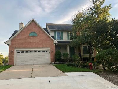 Farmington Hill Single Family Home For Sale: 28006 Golf Pointe Blvd