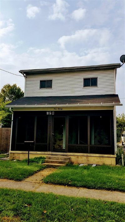 Lenawee County Single Family Home Contingent - Financing: 120 Bristol
