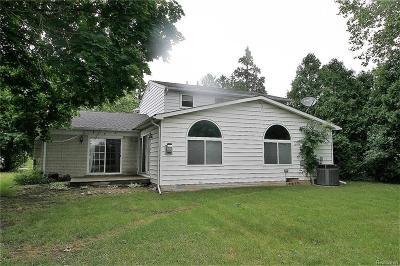 Farmington Hill Single Family Home For Sale: 29339 Geraldine Crt