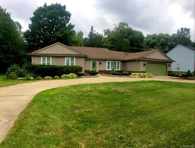 Farmington Hill Single Family Home For Sale: 33441 Old Timber Road Rd