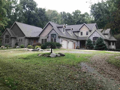 Jackson County, Lenawee County, Hillsdale County Single Family Home For Sale: 1255 Meadow Ln