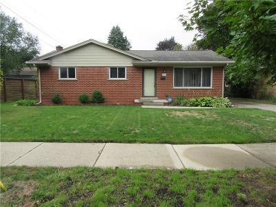 Ann Arbor Single Family Home For Sale: 725 Patricia Ave