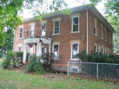 Jonesville Multi Family Home For Sale: 5751 E Chicago Rd