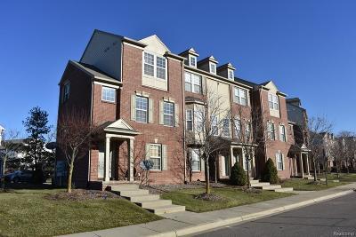 Novi Condo/Townhouse For Sale: 44782 Gwinnett Loop