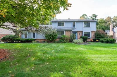 Farmington Hill Single Family Home For Sale: 29307 Birchcrest Way