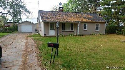 Spring Arbor Single Family Home For Sale: 123 Baker St