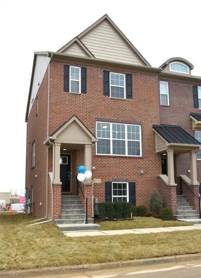 Northville Condo/Townhouse For Sale: 47722 Leland Dr