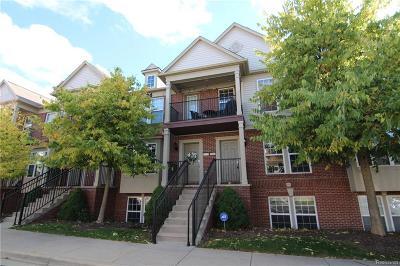 Novi Condo/Townhouse For Sale: 27919 Hopkins Dr