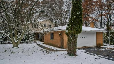 Ann Arbor Single Family Home Contingent - Financing: 2865 Whippoorwill Ln