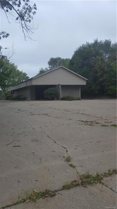 Jackson County Commercial/Industrial For Sale: 1010 Burr