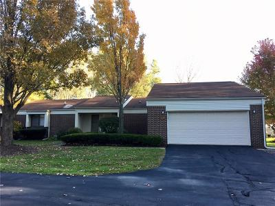 West Bloomfield Condo/Townhouse For Sale: 5229 Simpson Lake Rd