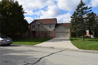 Farmington Hill Single Family Home For Sale: 27590 Bridle Hills Dr