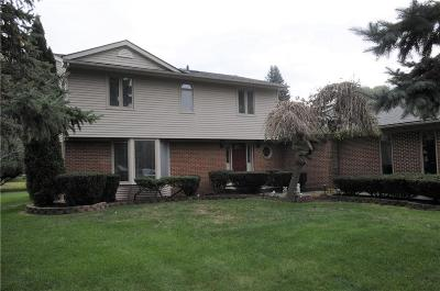 Livonia Single Family Home For Sale: 18982 Laurel Dr