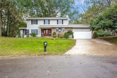 Jackson Single Family Home For Sale: 5261 Blairmoor St