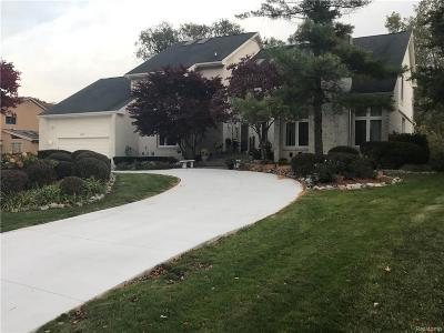 West Bloomfield Single Family Home For Sale: 4197 Strathdale Ln