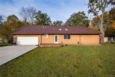 Farmington Hill Single Family Home For Sale: 21051 Orchard Lake