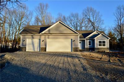 Brighton Single Family Home For Sale: 2955 Cady Dr