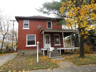 Single Family Home For Sale: 820 Clinton River