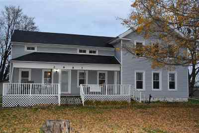 Single Family Home For Sale: 2987 Lenawee Hwy