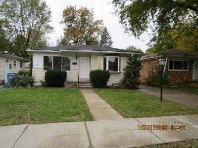 Single Family Home For Sale: 4428 Ziegler St
