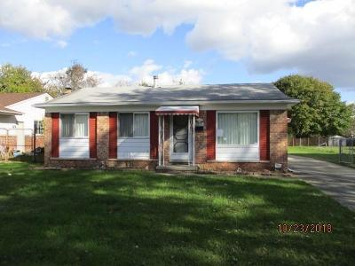 Single Family Home For Sale: 15071 Harrison