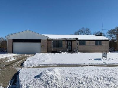 Single Family Home For Sale: 365 Clinton River Dr