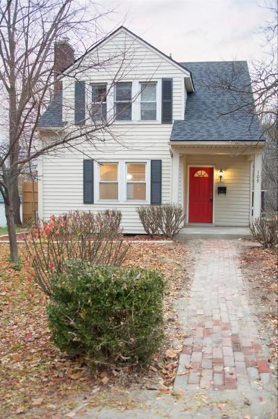 Ann Arbor Single Family Home For Sale: 109 Pleasant Pl