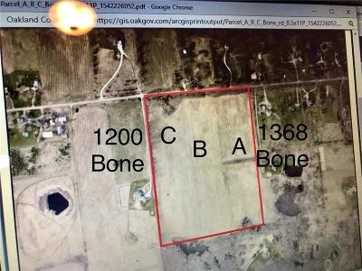 Residential Lots & Land For Sale: Bone Rd