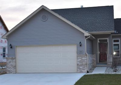 Lenawee County Single Family Home For Sale: 533 Ridge Lane