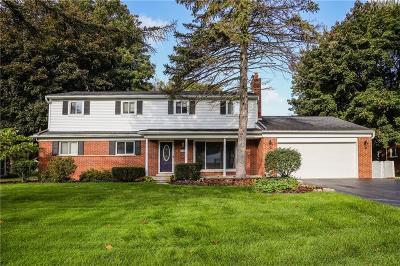 Farmington Hill Single Family Home For Sale: 28429 Ridgebrook Rd