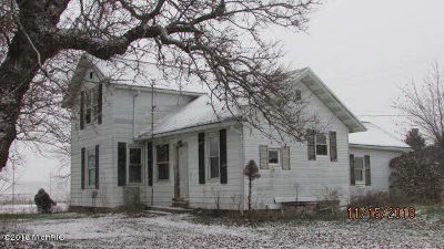 Hillsdale County Single Family Home For Sale: 11080 Territorial Rd