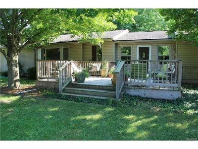 Ann Arbor Single Family Home For Sale: 757 Country Rd