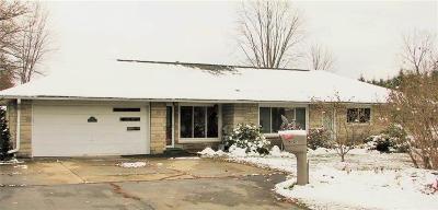 Jackson Single Family Home For Sale: 5999 Lansing Ave