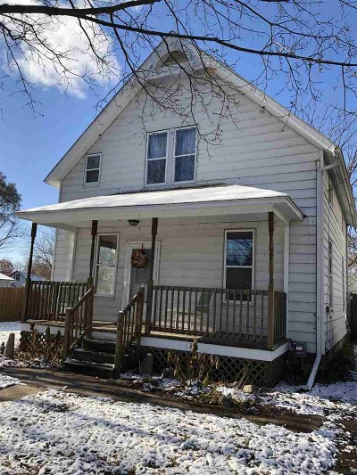 Lenawee County Single Family Home For Sale: 405 N Jackson