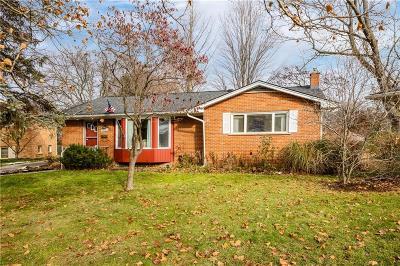 Ann Arbor Single Family Home For Sale: 2002 Brampton Crt
