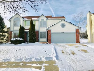 Ann Arbor Single Family Home For Sale: 2864 Mystic