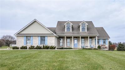Dexter Single Family Home For Sale: 8702 Gross Rd