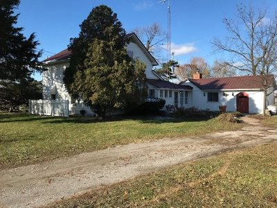 Lenawee County Single Family Home For Sale: 6971 Riga