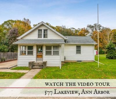 Ann Arbor Single Family Home Contingent - Financing: 577 Lakeview Ave