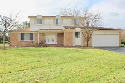 Farmington Hill Single Family Home For Sale: 28965 Ramblewood Dr