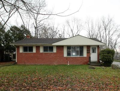 Ann Arbor Single Family Home Contingent - Financing: 2229 Faye Dr